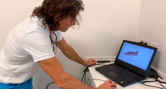 El Doctor Sergio Pedano nos detalla un ejemplo de scanner intraoral
